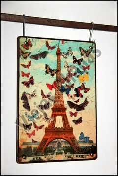 ZR-064 paris mariposas - comprar online