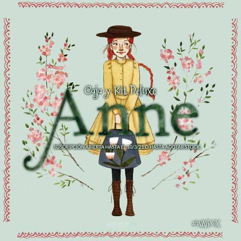 Caja Deluxe ANNE OF GREEN GABLES