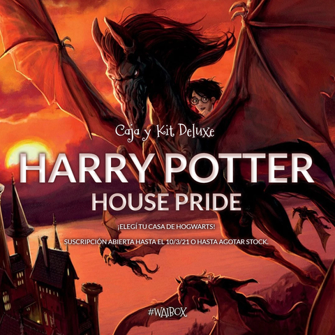 Caja Deluxe Harry Potter - House Pride