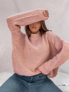 Sweater Melody Rosa