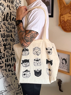 Totebag Gatos del Mar - buy online