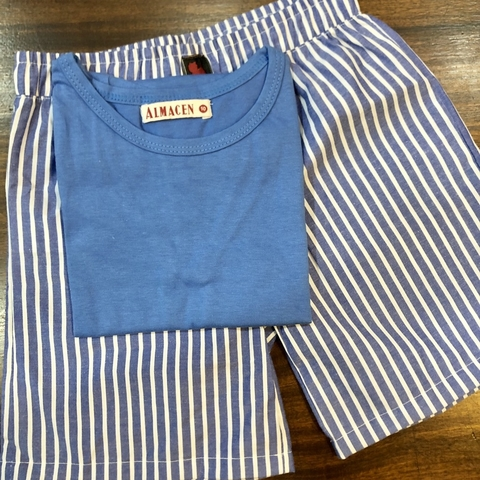 CONJUNTO BASIC STRIPES