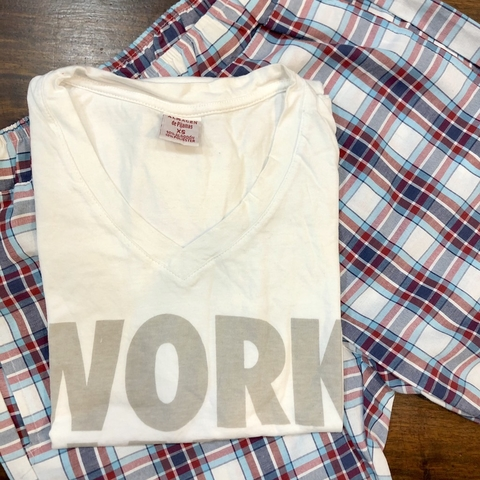 CONJUNTO WORK HARD 'XS'