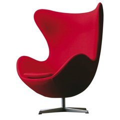 Sillon Egg Jacobsen Rojo
