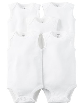 kit body carters branco regata