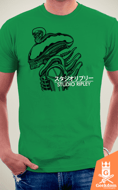 Camiseta Alien - Studio Ripley - by Pigboom na internet