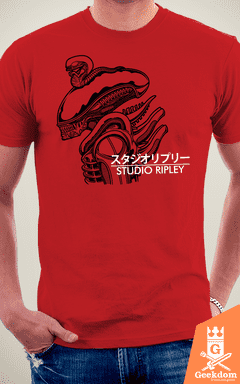 Camiseta Alien - Studio Ripley - by Pigboom - loja online