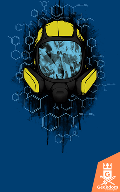 Camiseta Breaking Bad - Cristalino - by Pigboom