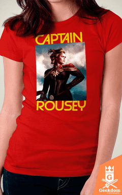 Camiseta Capitã Rousey - by HugoHugo - comprar online
