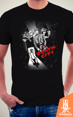 Camiseta Death City - by Ddjvigo - loja online