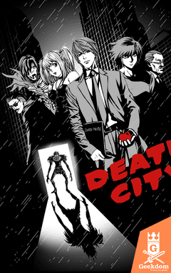 Camiseta Death City - by Ddjvigo