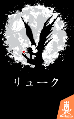 Camiseta Death Note - Shinigami e a Maçã - by Ddjvigo