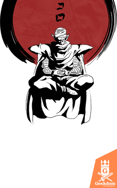 Camiseta Dragon Ball - Piccolo Zen - by Ddjvigo