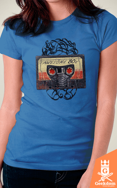 Camiseta Guardiões da Galáxia - Awesome 80s - by RicoMambo - comprar online