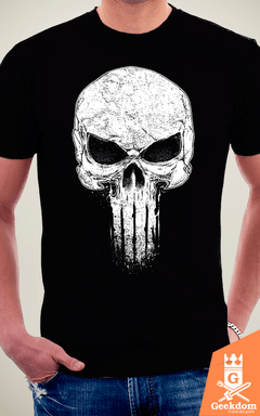 Camiseta Justiceiro - Punido - by RicoMambo | Geekdom Store | www.geekdomstore.com