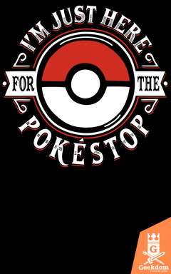 Camiseta Pokémon - Pokestop - by Olipop