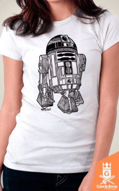Camiseta Star Wars - R2D2 - by Andrei | www.geekdomstore.com