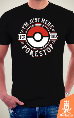 Camiseta Pokémon - Pokestop - by Olipop na internet
