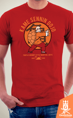 Camiseta Dragon Ball - Escola do Kame - by Pigboom | www.geekdomstore.com