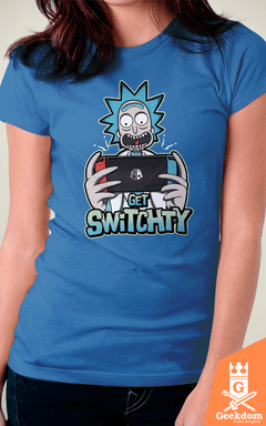 Camiseta Rick and Morty - Get Switchty - by Olipop | Geekdom Store | www.geekdomstore.com
