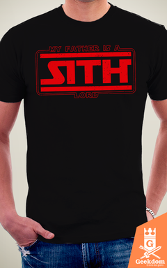 Camiseta Star Wars - Meu Pai é um Sith - by Pigboom na internet