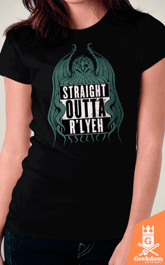Camiseta Straight Outta R'lyeh - by Pigboom - comprar online