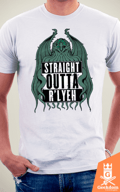 Camiseta Straight Outta R'lyeh - by Pigboom - loja online
