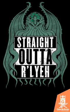 Camiseta Straight Outta R'lyeh - by Pigboom