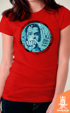 Camiseta The Big Bang Theory - Sheldon Perdido - by RicoMambo - Geekdom Store - Camisetas Geek Nerd