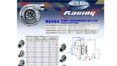 Turbo Master Power Racing R656/11 (410 - 750 HP) Competición