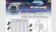 Turbo Master Power Racing R545/2 (270 - 600 HP) Competición