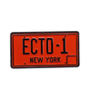 Pin Ghostbusters Placa Ecto 1