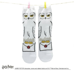 Medias Largas Harry Potter Hedwig con carta