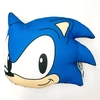 Almohadón Sonic The Hedgehog Oficial Sonic Clasico Perfil