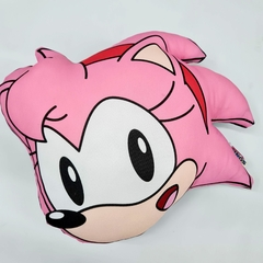 Almohadón Sonic The Hedgehog Oficial Amy Clasica