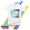 Remera Unisex Sonic The Hedgehog BARCODE Sonic, Tails & Knuckles