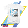 Remera para Chicos Sonic The Hedgehog BARCODE Sonic, Tails & Knuckles