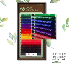 Extensiones Color Rainbow