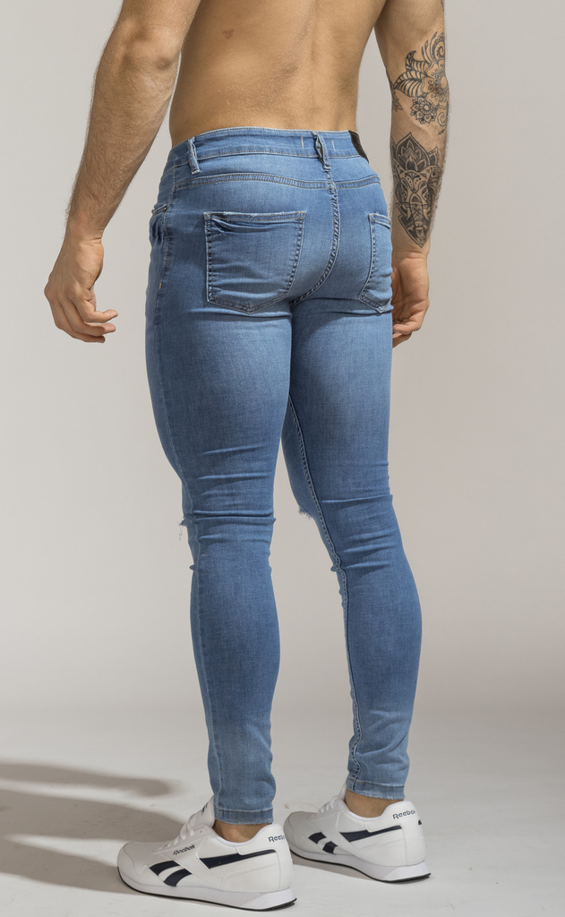 Skinny Jeans - Blue Vondel - Harvey & Willys on internet