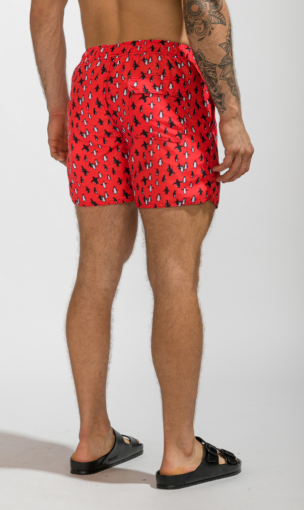 Short corte regular  - Penguins  (PREVENTA - 15%OFF - DISPONIBLE SEMANA 12-18 DIC.) (copia) (copia) (copia) on internet