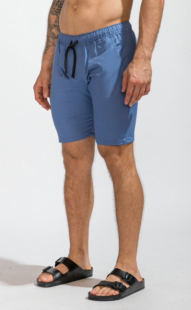 Skinny bermudas - light blue