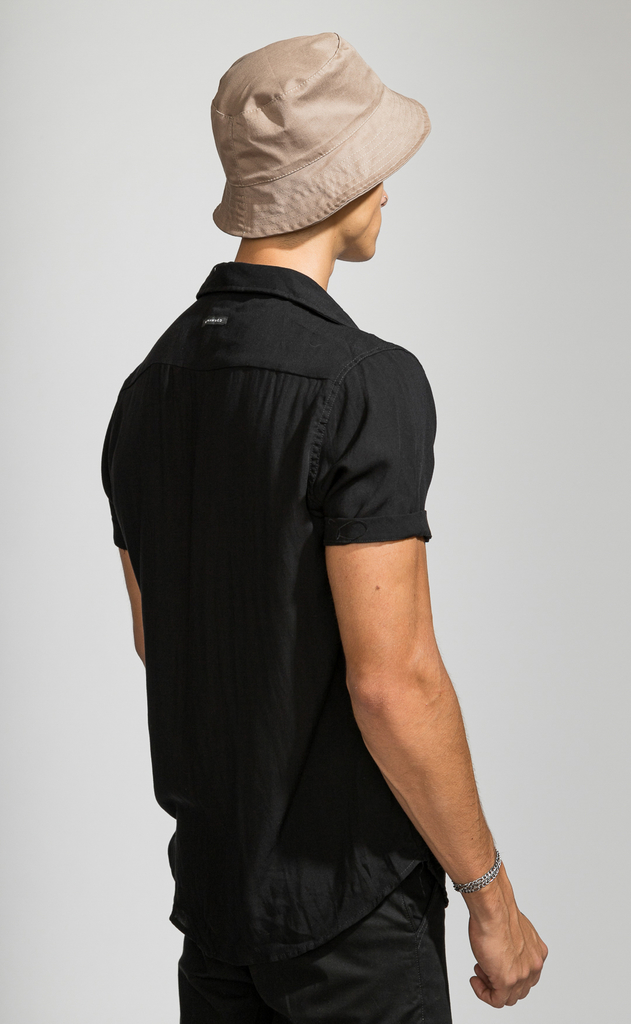 Flowy shirt - just black - comprar online