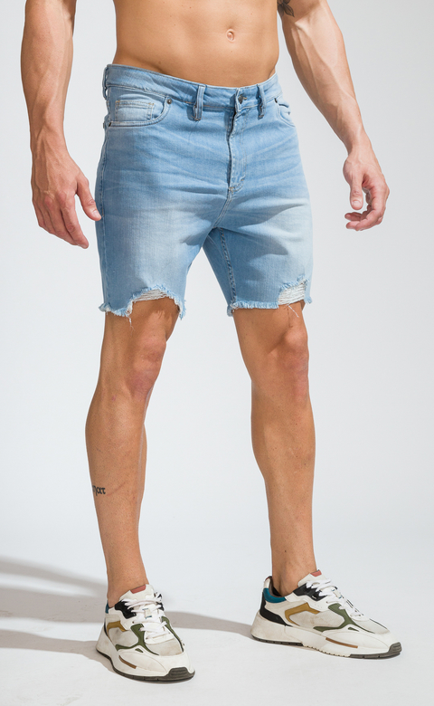 Denim Bermudas - Duke Light Blue (copia)