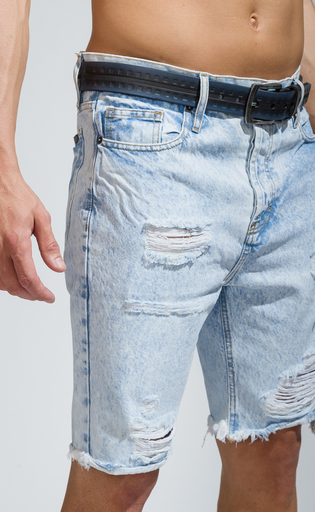 Denim Bermudas - sky destroyed - comprar online