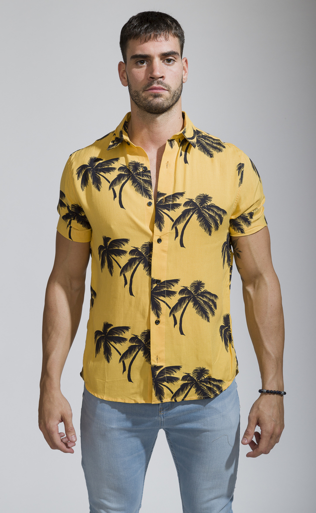 Flowy shirt - Tulum Yellow en internet