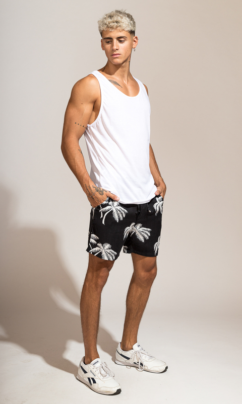 Flowy shorts - Tulum black