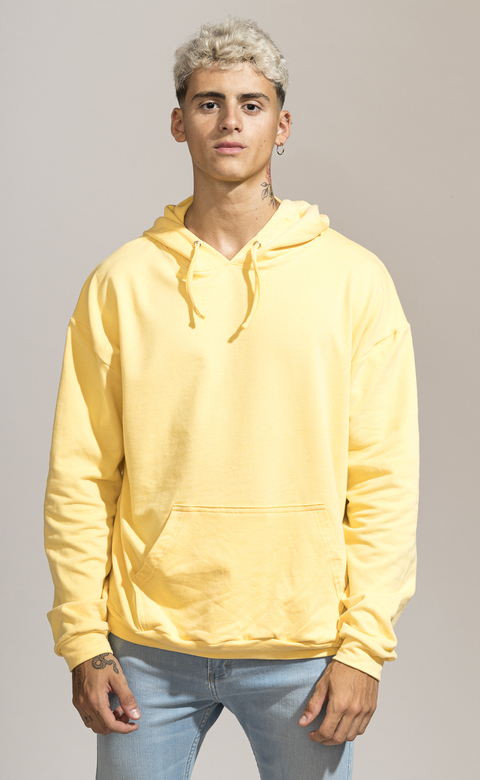 Hoodie  - light yellow