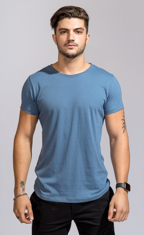 Brooklyn tshirt - Cairo Blue