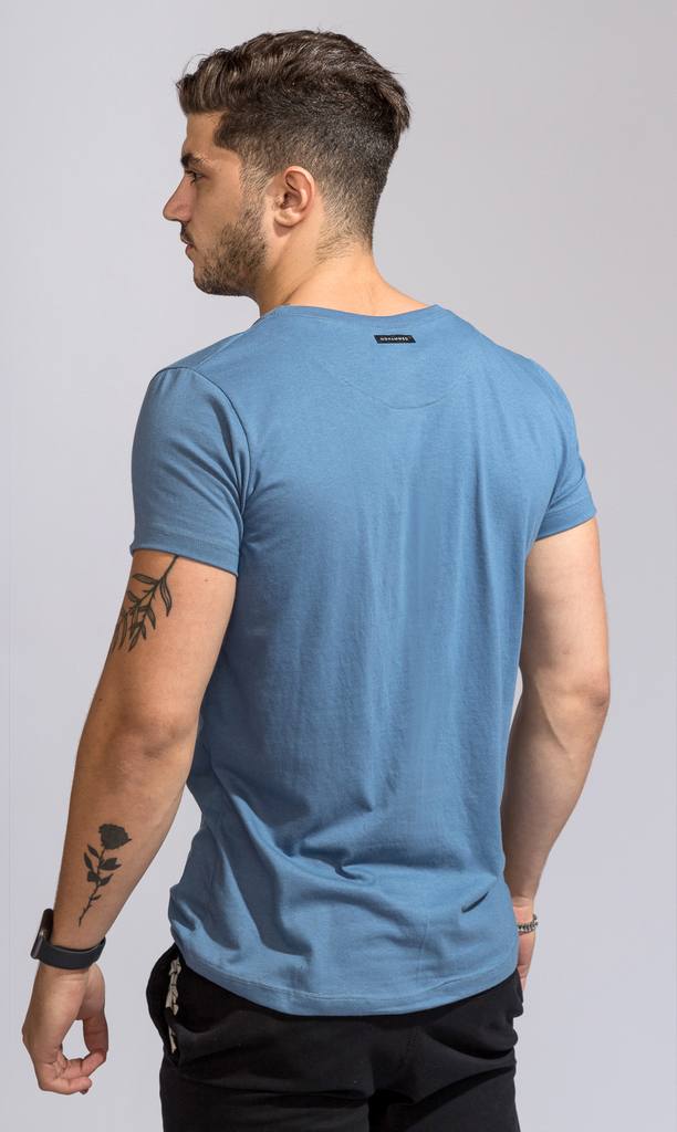 Brooklyn tshirt - Cairo Blue - buy online