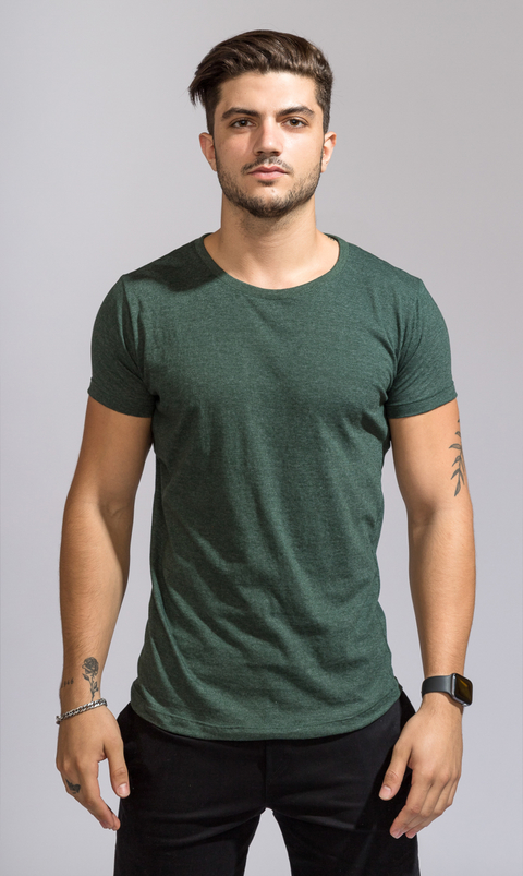 Brooklyn tshirt - Emerald green
